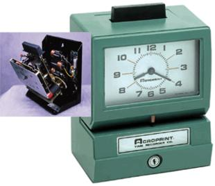 Acroprint BOSS Portable Employee Time Clock
