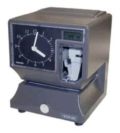Amano TCX-22 Portable Time Clock