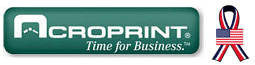 Logo for Acroprint Portable Time Clocks