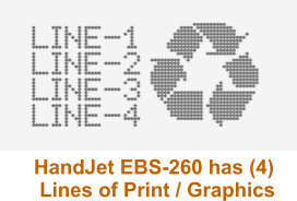 EBS-260 4 Lines of Imprint with Graphics