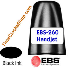 HandJet EBS260 Black Inkjet Cartridge