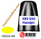 HandJet Printer Ink for EBS260 Yellow Ink Color