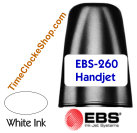 HandJet Printer Ink for EBS260 White Ink Color