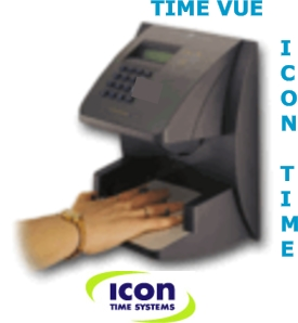 IconTime Systems Hand Punch 1000 Biometric Time Clock System