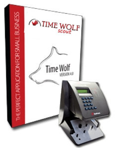 TimeWolf Scout Payroll Time Clock