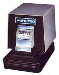 ABE 700 Document Numbering Perforator