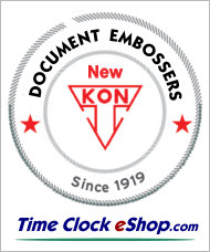 Corporate Secure Seal Official Document Embosser from New Kon